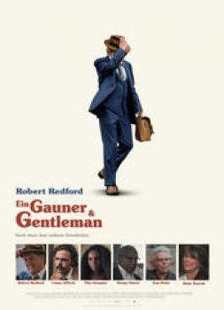 <b>Robert Redford</b><br>Ein Gauner und Gentleman (2018)<br><small><i>Old Man and the Gun</i></small>