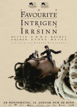 <b>Sandy Powell</b><br>The Favourite - Intrigen und Irrsinn (2018)<br><small><i>The Favourite</i></small>