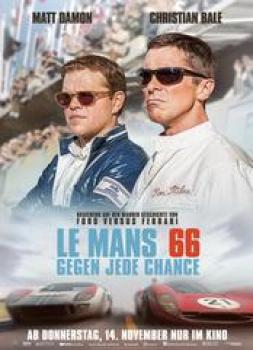 <b>Paul Massey, David Giammarco, Steven A. Morrow</b><br>LeMans 66 - Gegen jede Chance (2019)<br><small><i>Ford v Ferrari</i></small>