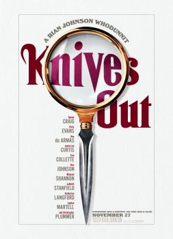 <b>Rian Johnson</b><br>Knives Out (2019)<br><small><i>Knives Out</i></small>