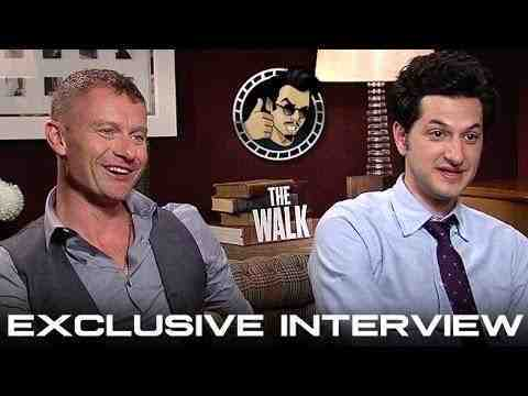 The Walk - James Badge Dale and Ben Schwartz Interview