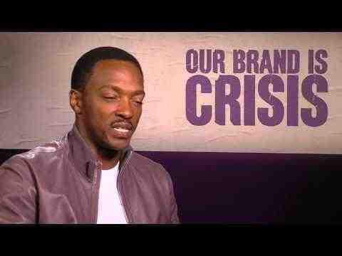 Our Brand Is Crisis - Anthony Mackie Interview