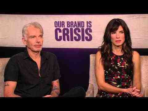 Our Brand Is Crisis - Sandra Bullock & Billy Bob Thornton Interview