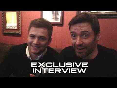 Eddie the Eagle - Taron Egerton and Hugh Jackman Interview