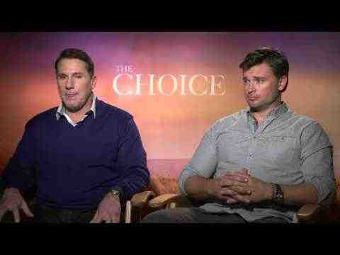 The Choice - Author Nicholas Sparks & Tom Welling Interview