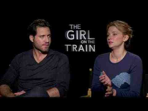 The Girl on the Train - Haley Bennett & Edgar Ramirez Interview