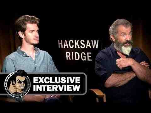 Hacksaw Ridge -  Mel Gibson and Andrew Garfield Interview