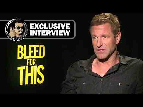 Bleed for This - Aaron Eckhart Interview