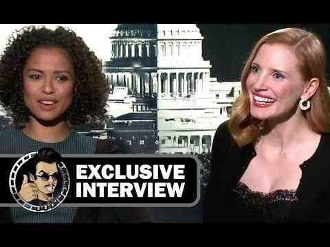 Miss Sloane - Jessica Chastain & Gugu Mbatha-Raw Interview
