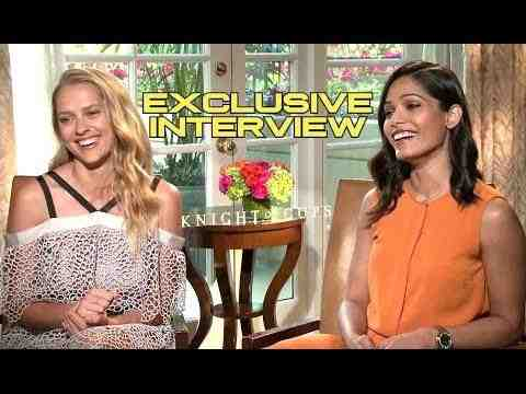 Knight of Cups - Teresa Palmer and Freida Pinto Interview