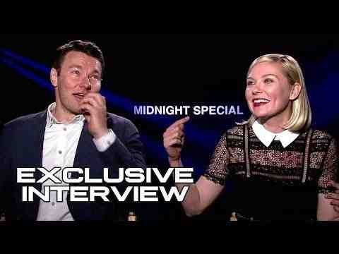 Midnight Special - Joel Edgerton & Kirsten Dunst Interview