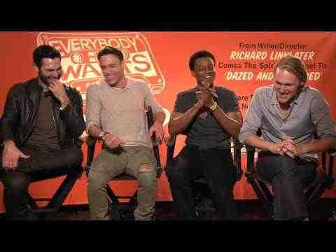 Everybody Wants Some - Tyler Hoechlin, Ryan Guzman, J. Quinton Johnson, Wyatt Russell Interview