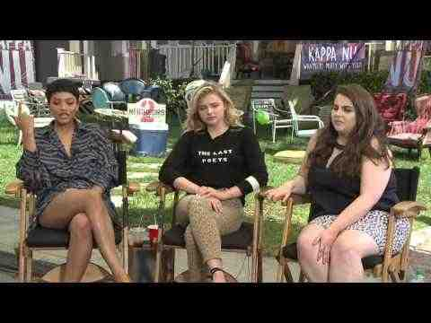 Neighbors 2: Sorority Rising - Chloe Grace Moretz, Feldstein & Clemons Interview