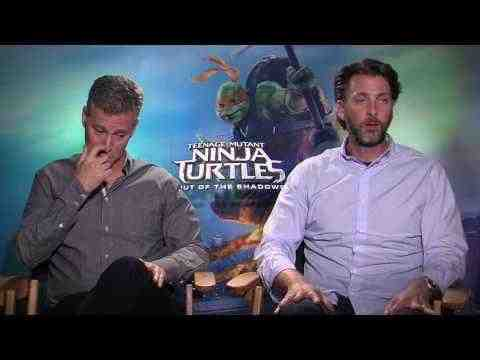 Teenage Mutant Ninja Turtles: Out of the Shadows - Brad Fuller & Andrew Form Interview