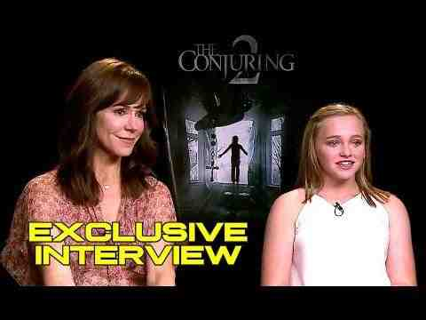 The Conjuring 2 - Francis O'Connor & Madison Wolfe Interview