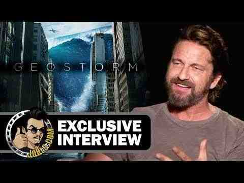 Geostorm - Gerard Butler Interview