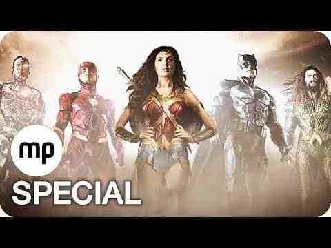 Justice League - Character Clips & Trailer