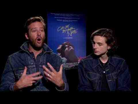 Call Me by Your Name - Armie Hammer & Timothee Chalamet Interview