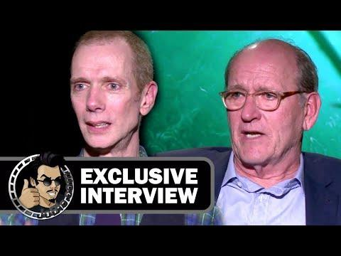 The Shape of Water - Doug Jones & Richard Jenkins Interview