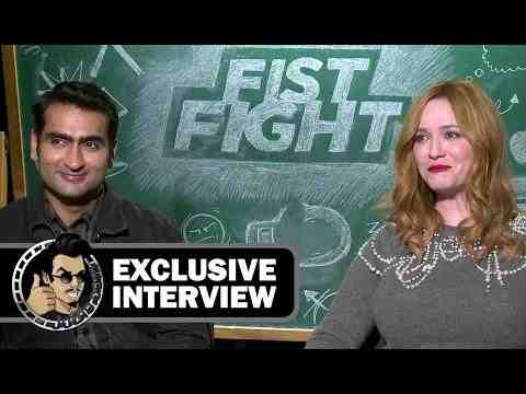 Fist Fight - Kumail Nanjiani & Christina Hendricks Interview