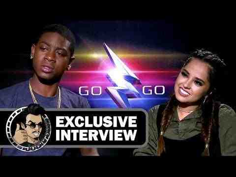 Power Rangers - RJ Cyler & Becky G Interview
