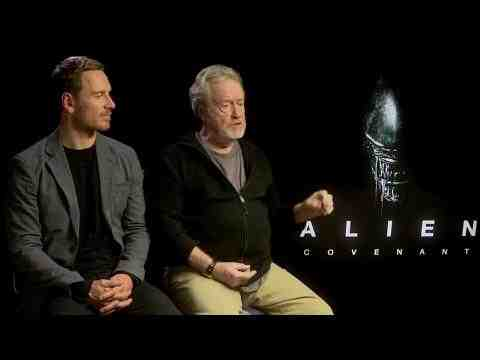 Alien: Covenant - Ridley Scott & Michael Fassbender Interview