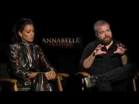Annabelle: Creation - Stephanie Sigman & David F. Sandberg Interview