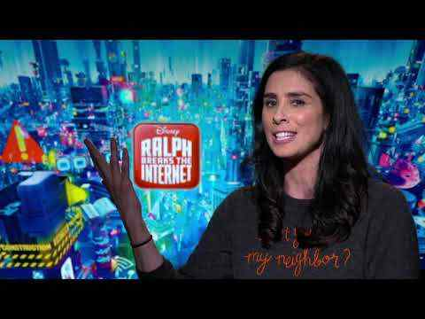 Ralph Breaks the Internet: Wreck-It Ralph 2 - Sarah Silverman Interview