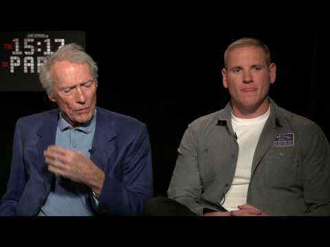 The 15:17 to Paris - Clint Eastwood, Anthony Sadler, Spencer Stone & Alek Skarlatos Interview