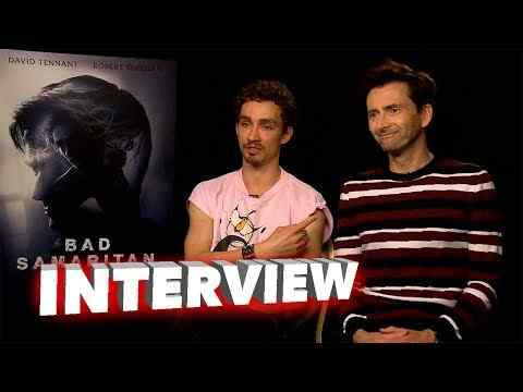 Bad Samaritan - Robert Sheehan & David Tenant Interview