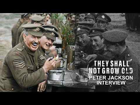 They Shall Not Grow Old - Peter Jackson Interview