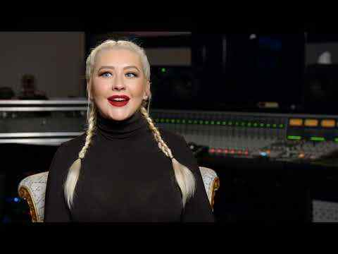 The Addams Family - Christina Aguilera Interview