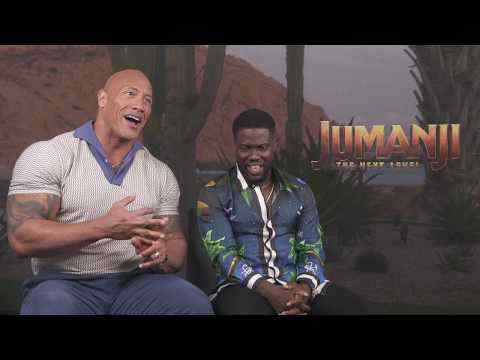 Jumanji: The Next Level - Dwayne Johnson & Kevin Hart Interview