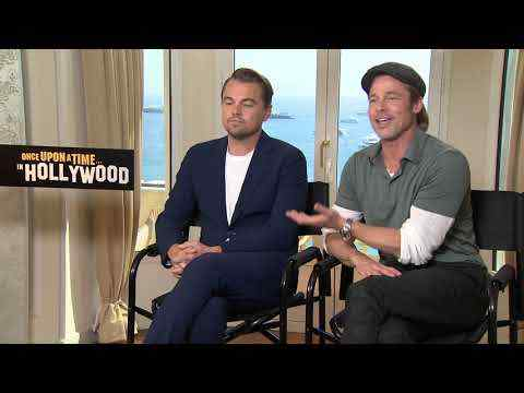 Once Upon a Time in Hollywood - Brad Pitt & Leonardo DiCaprio Interview