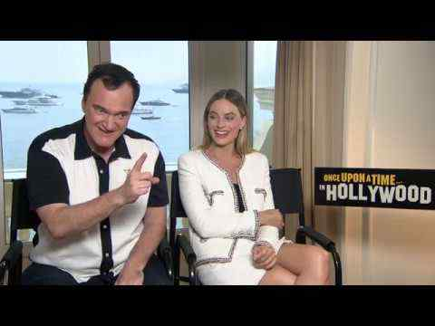 Once Upon a Time in Hollywood - Margot Robbie & Quentin Tarantino Interview