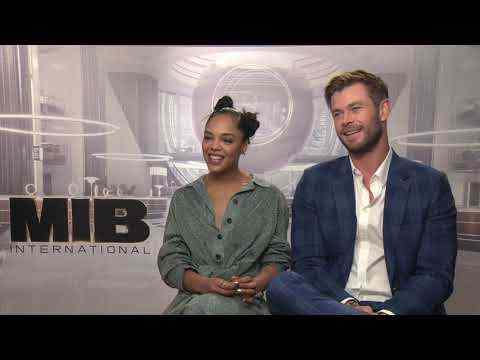 Men in Black: International - Chris Hemsworth & Tessa Thompson Interview