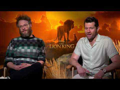 The Lion King - Seth Rogen & Billy Eichner Interview