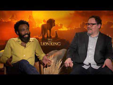 The Lion King - Director Jon Favreau & Donald Glover Interview