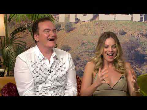 Once Upon a Time in Hollywood - Quentin Tarantino, Leonardo DiCaprio, Brad Pitt Interview