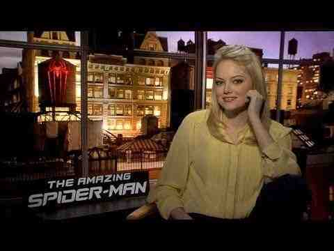 The Amazing Spider-Man - Emma Stone Interview
