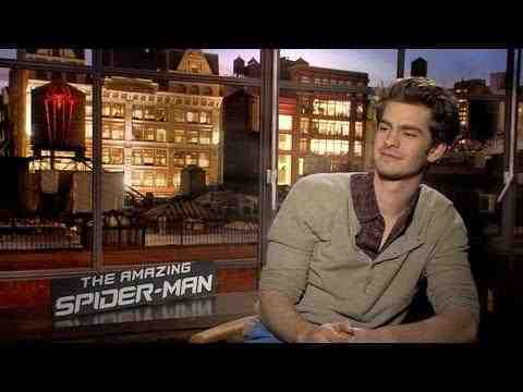 The Amazing Spider-Man - Andrew Garfield Interview