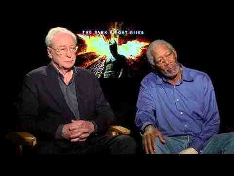 The Dark Knight Rises - Michael Caine and Morgan Freeman - Interview