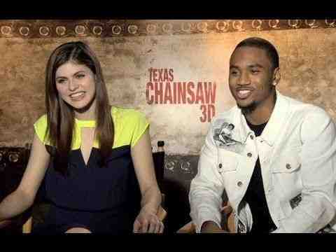 Texas Chainsaw 3D - Alexandra Daddario & Trey Songz Interview