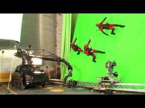 G.I. Joe: Retaliation - Behind the Scenes B-Roll 1