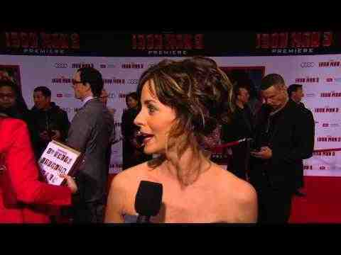 Iron Man 3 - Stephanie Szostak Interview