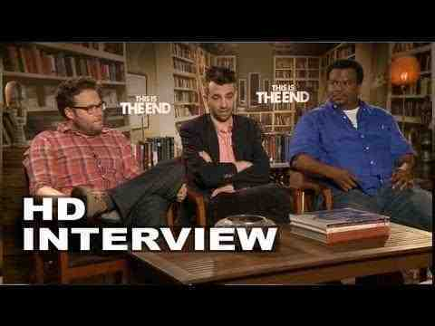 This Is the End - Seth Rogen, Jay Baruchel and Craig Robinson Interivew