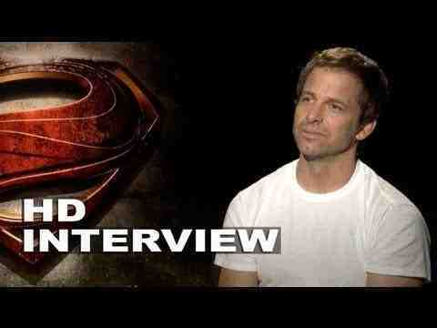 Man of Steel - Zack Snyder Interview