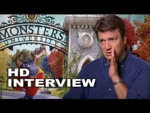 Monsters University - Nathan Fillion Interview Part 1