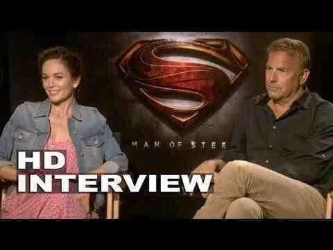 Man of Steel - Kevin Costner & Diane Lane Interview