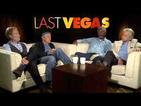 Last Vegas - Michael Douglas, Robert De Niro, Morgan Freeman, & Kevin Kline Interview Part 2